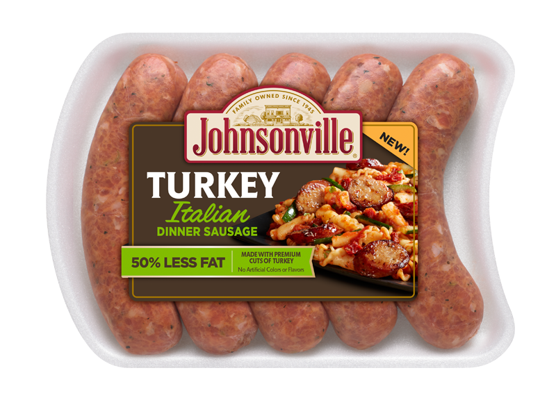 Turkey. Fresh italian dinner sausage