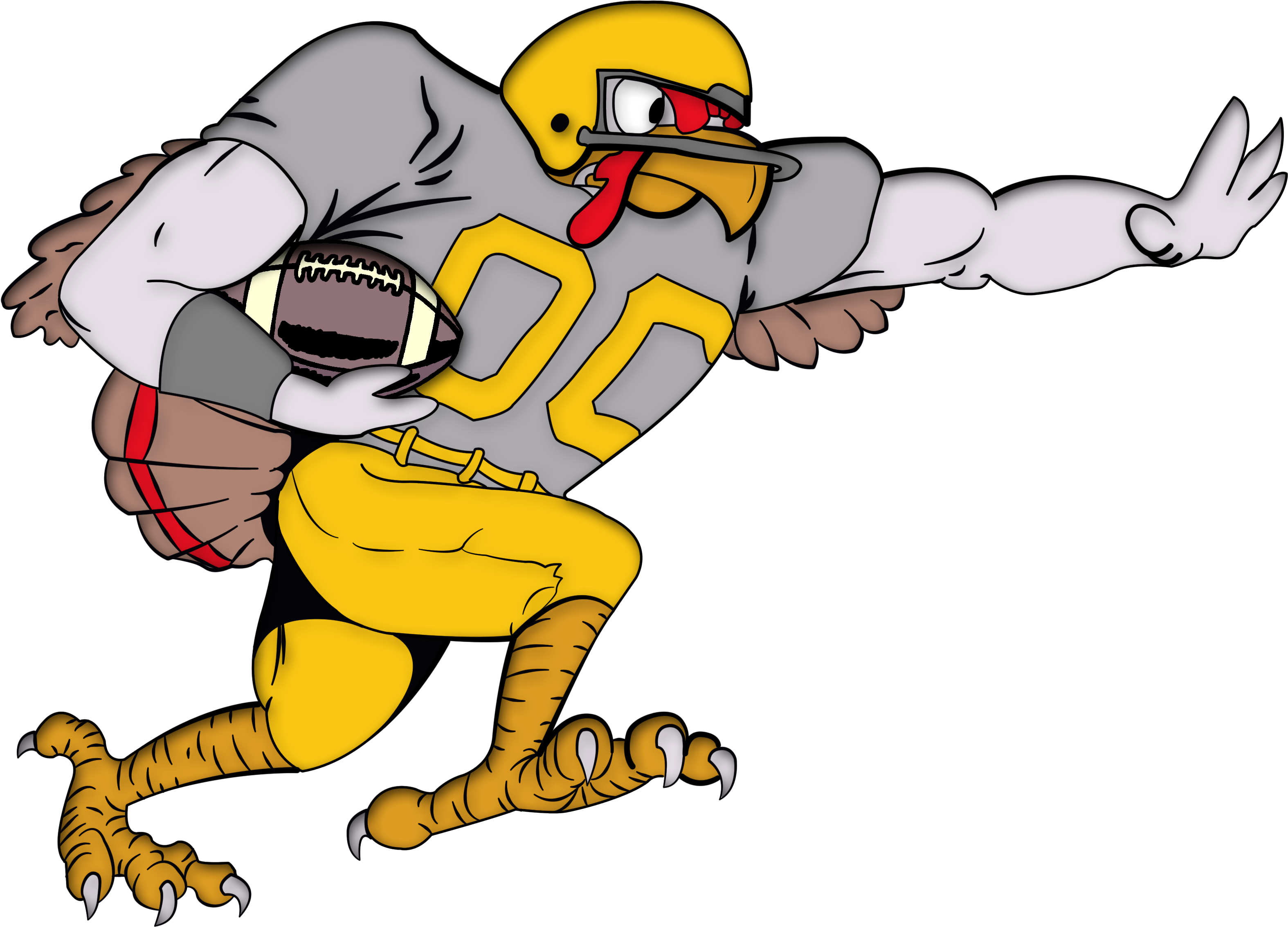 Turkey football png. Download bowl chili cook