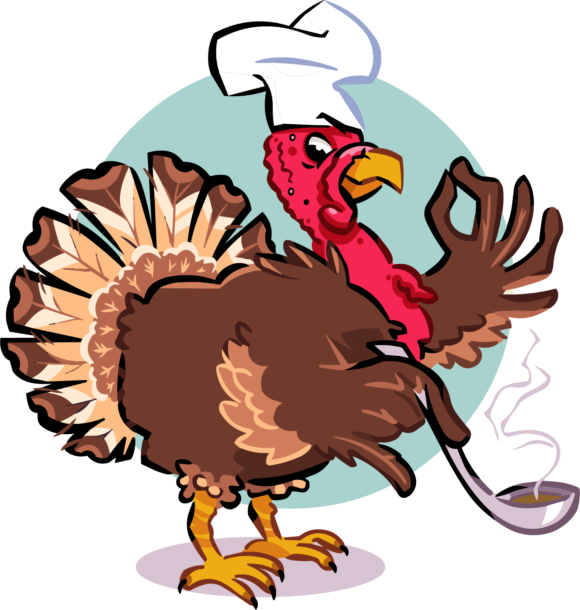 Png turkey. Chef icons free and