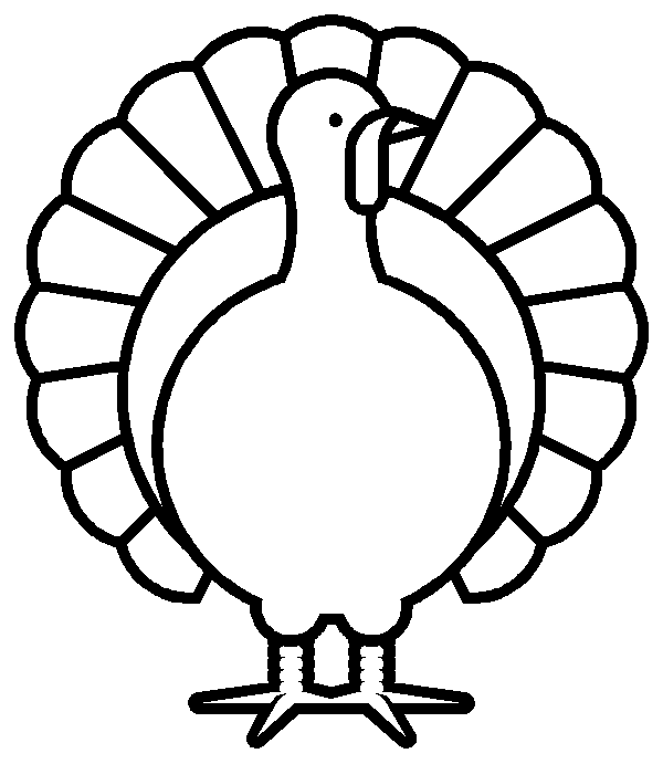 Turkey clip art black and white. Thanksgiving pictures for