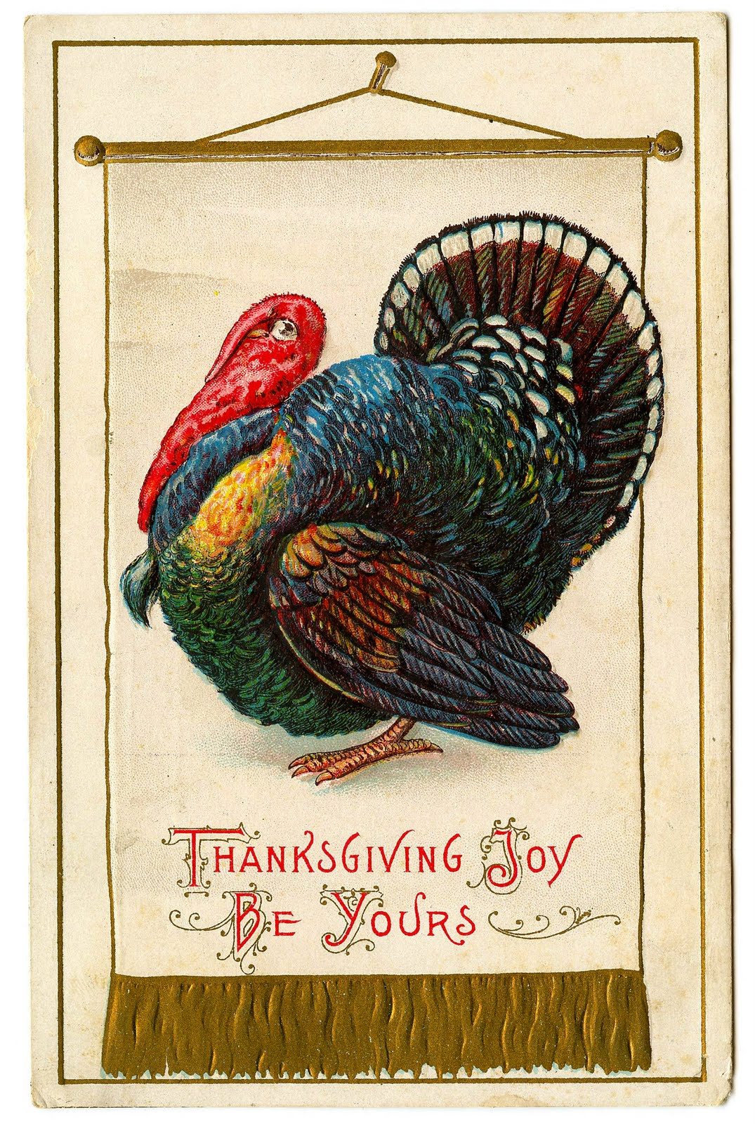 Turkey clip art colorful. Vintage thanksgiving the graphics
