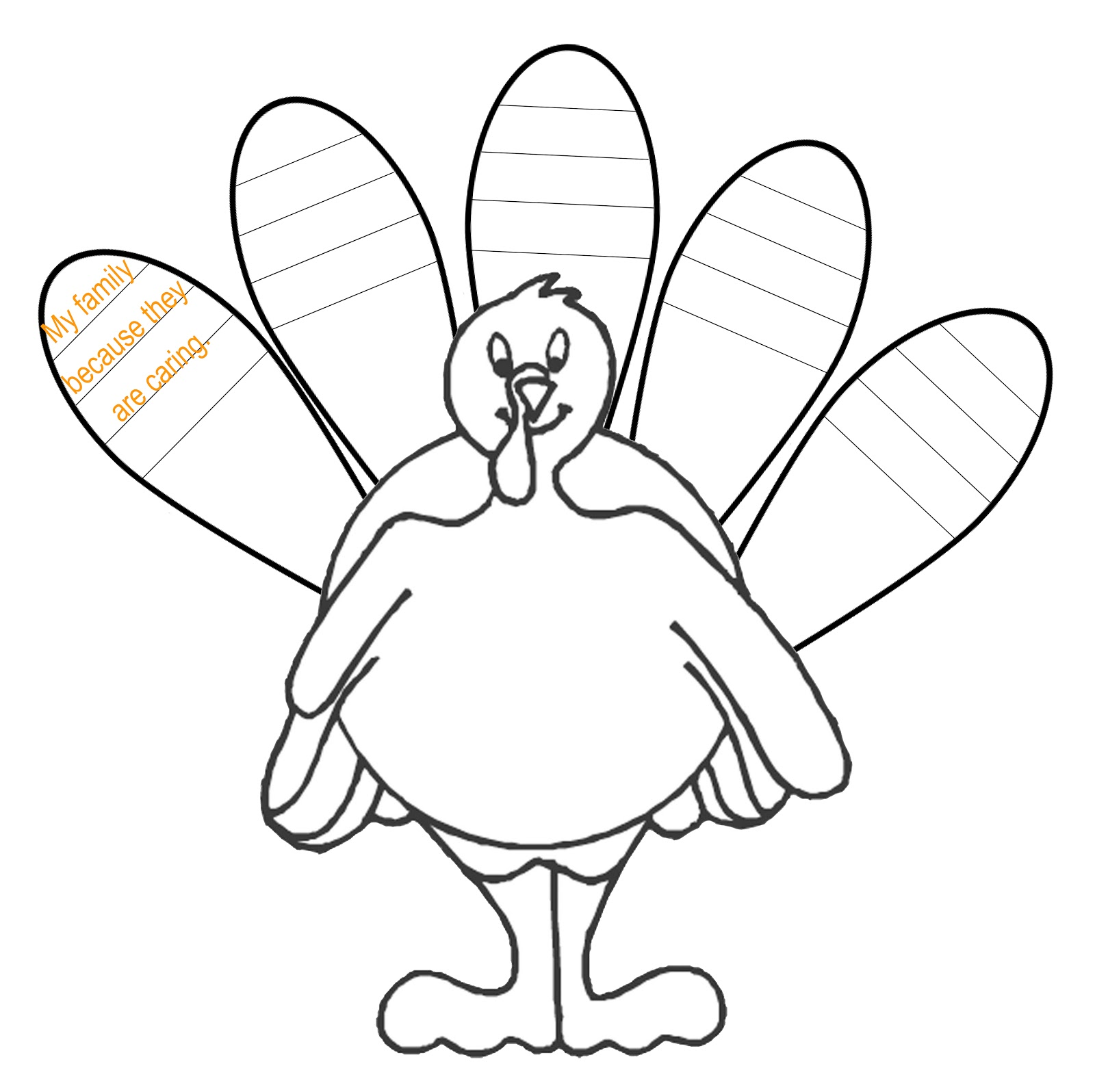 Turkey clip art coloring page. Challenge drawing template innovative