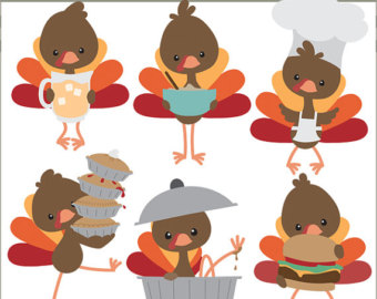 Turkey clip art cute. Thanksgiving clipart funny turkeys