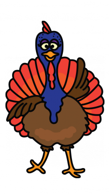 Turkey clip art easy. How to draw a