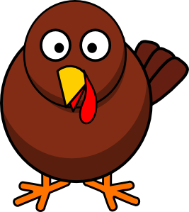 Turkey clip art public domain. Round cartoon vector online