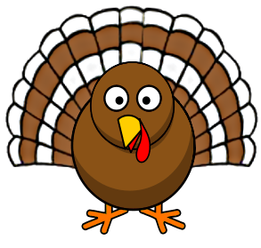 Turkey clip art public domain. Cute wide eyed image