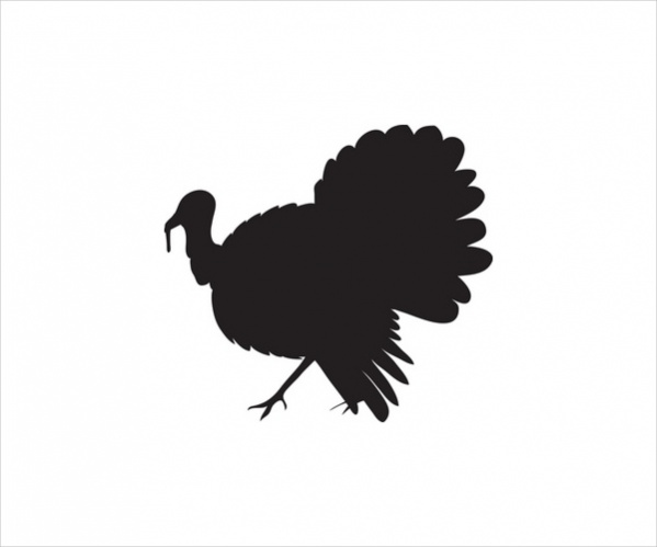 Turkey clip art silhouette. At getdrawings com free
