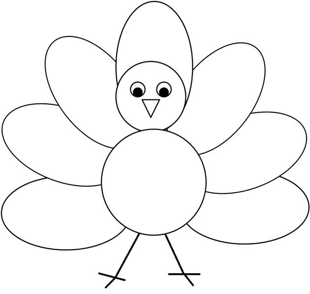 best meredith practicum. Turkey clip art simple image royalty free library