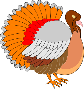 Turkey clip art vector. Orange clipart panda free