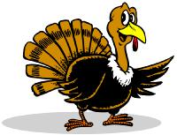 Turkey clip art wild turkey. Clipart black and white