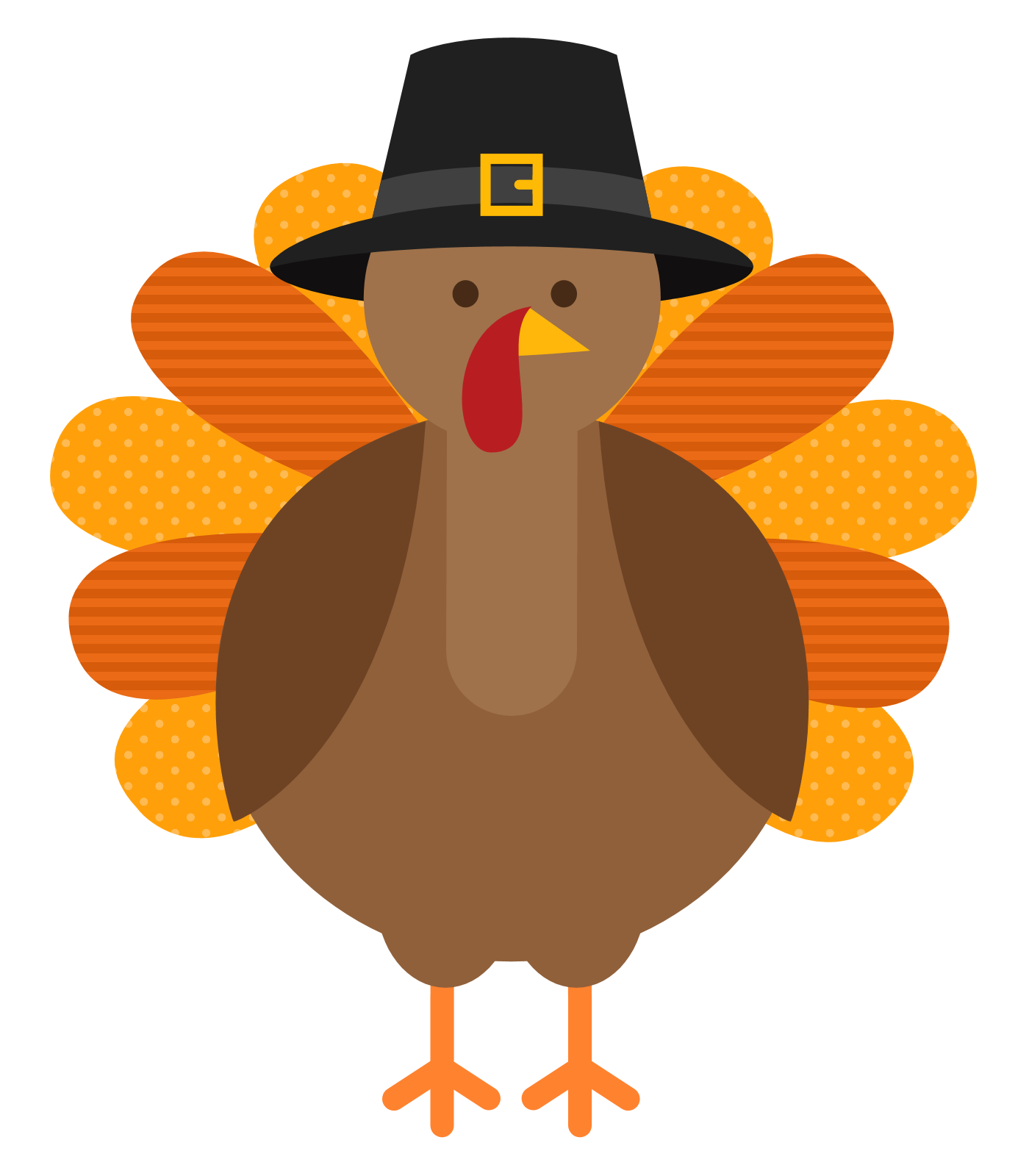 little things we. Drawing turkey easy clipart black and white download