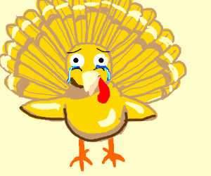 Turkey clipart yellow. Chicken