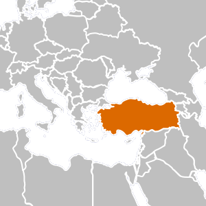 Turkey country png. Overview map