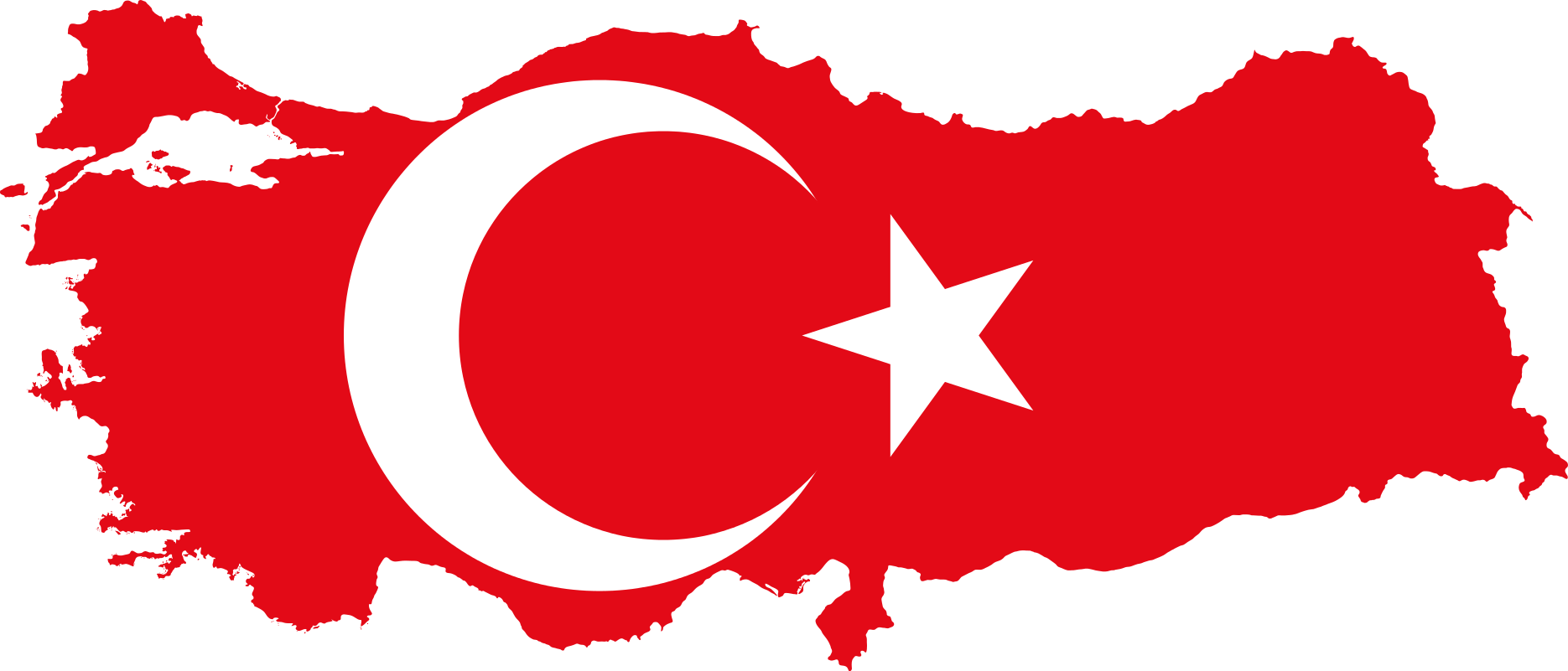 Turkey country png. File flag map of