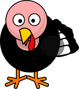 Drawing turkey face. Free cliparts download clip