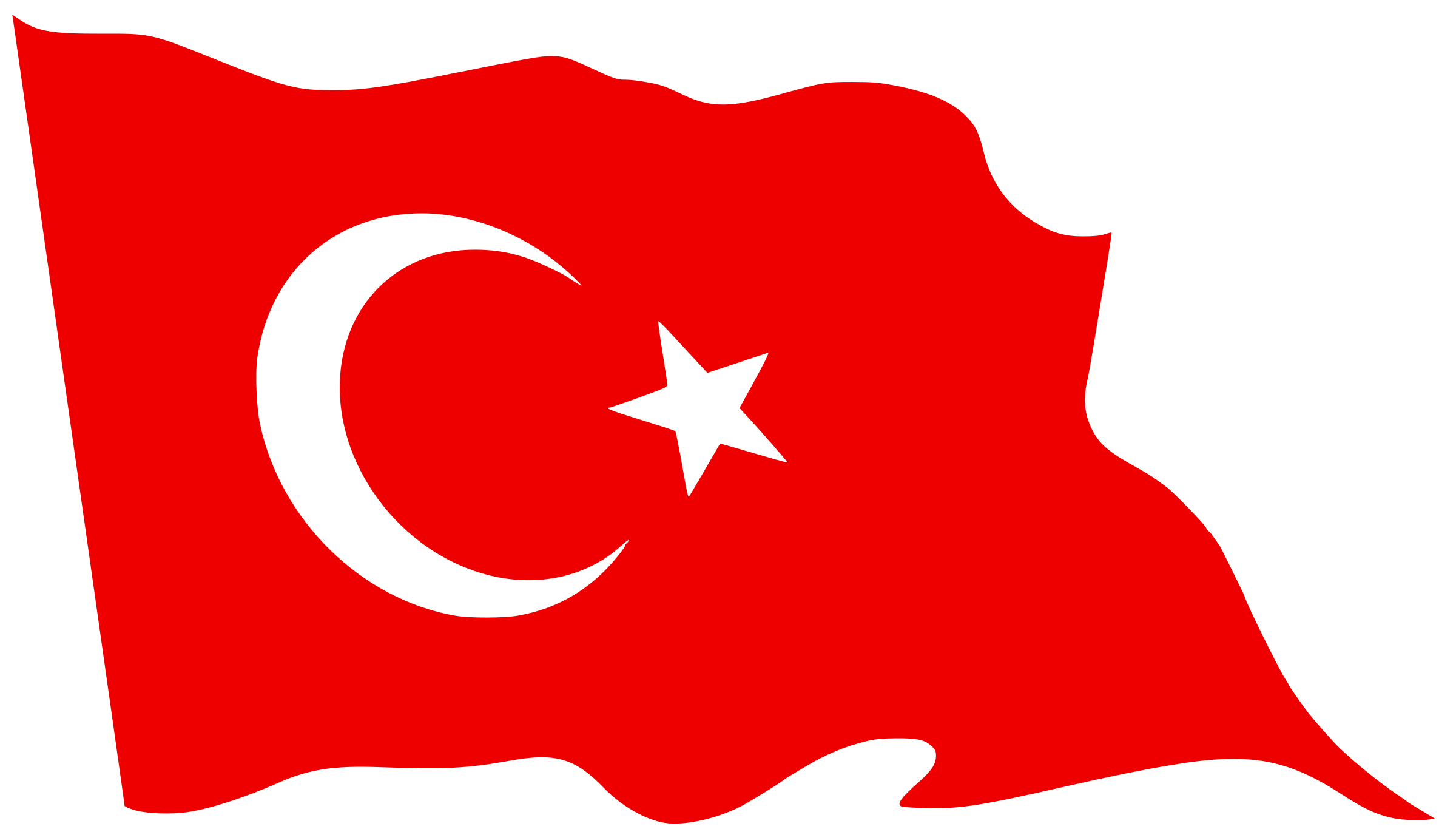 Flag of waving icons. Svg clip turkey jpg transparent stock