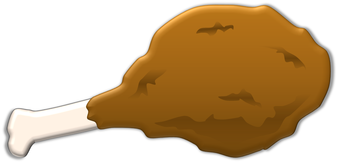 Amp vector illustration. Collection of turkey