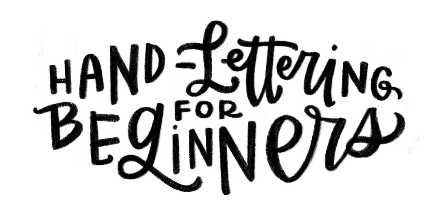 Turn a photo into a png. How to hand lettered
