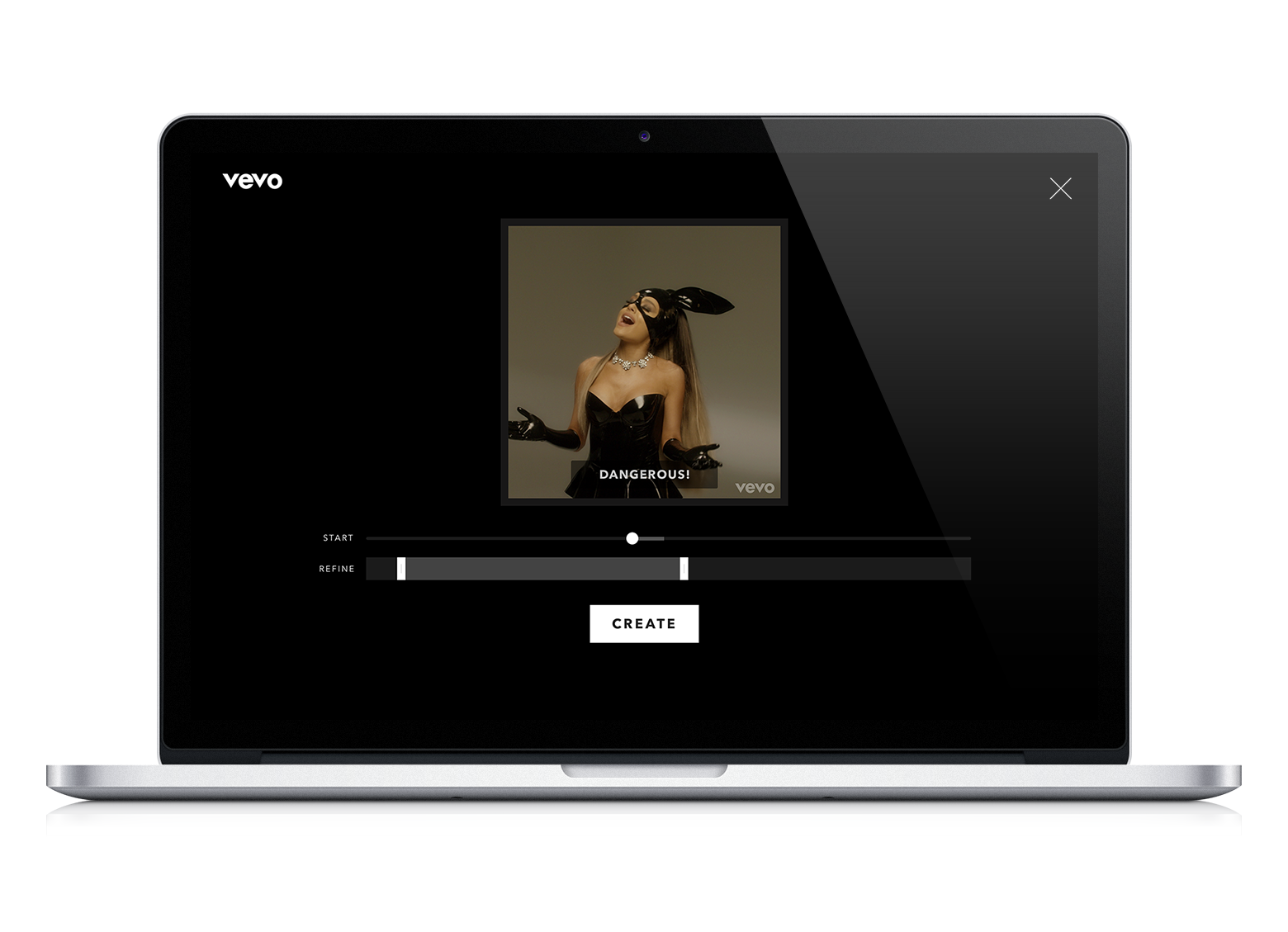Turn gif to png. Vevo lets you make