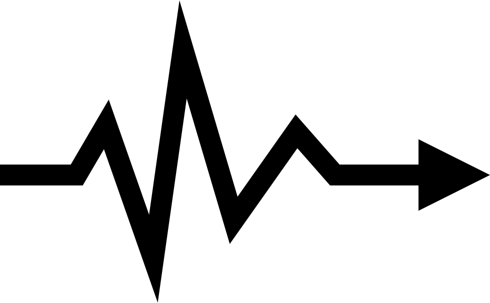 Turning a png into a vector. Lifeline directional arrow svg