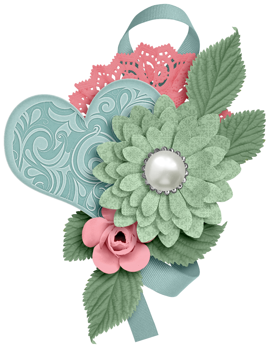Turquoise flower png. Ch b love pinterest