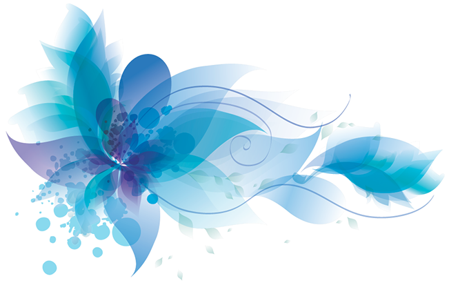 Turquoise flower png. Image h ly animal
