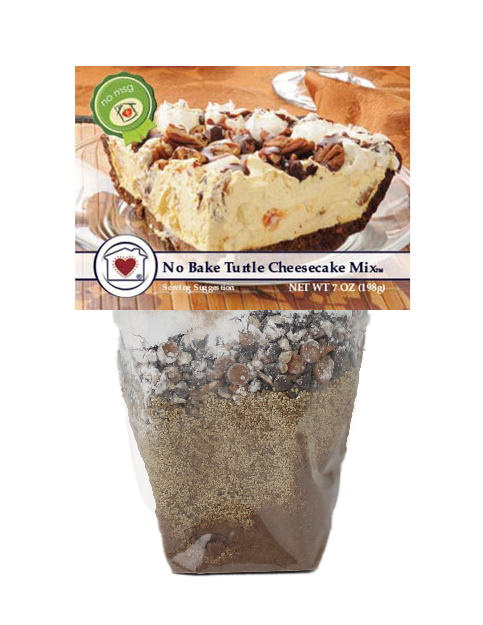 Turtle cheesecake png. No bake mix country