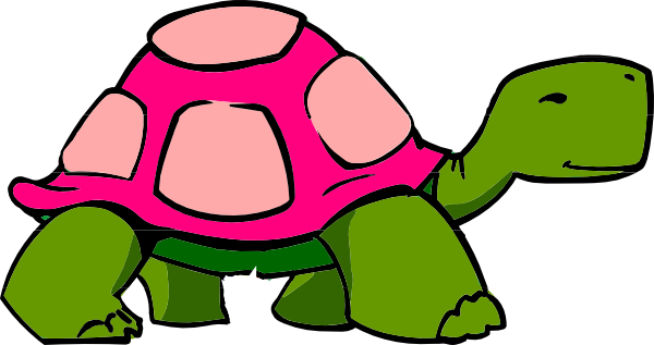 Turtle clipart bow. Clip art at clker
