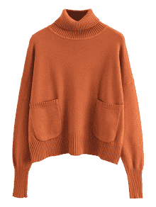 Turtle neck png. Pullover turtleneck sweater