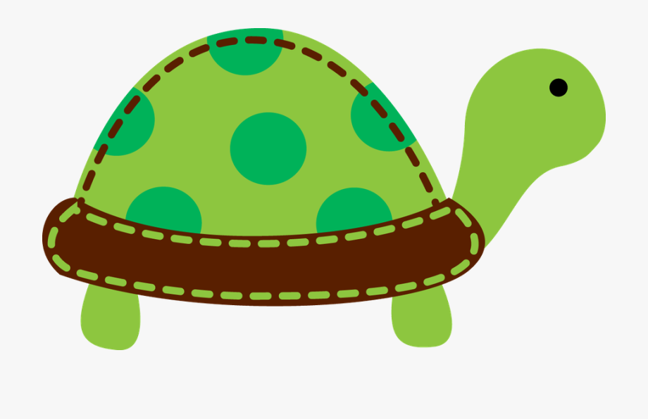 Turtle tail. Baby shower clipart transparent