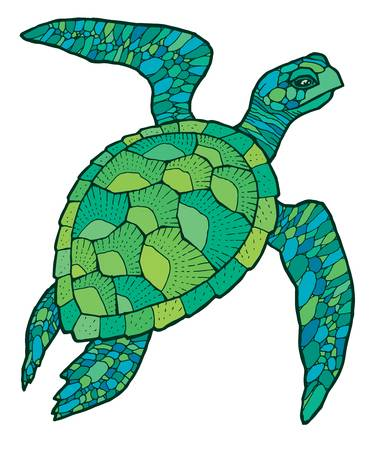 Turtle withers. Sea clipart making the