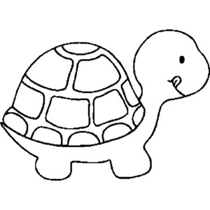 Turtles clipart outline. Turtle