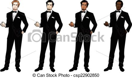 Tuxedo clipart. Illustrations and stock art graphic transparent