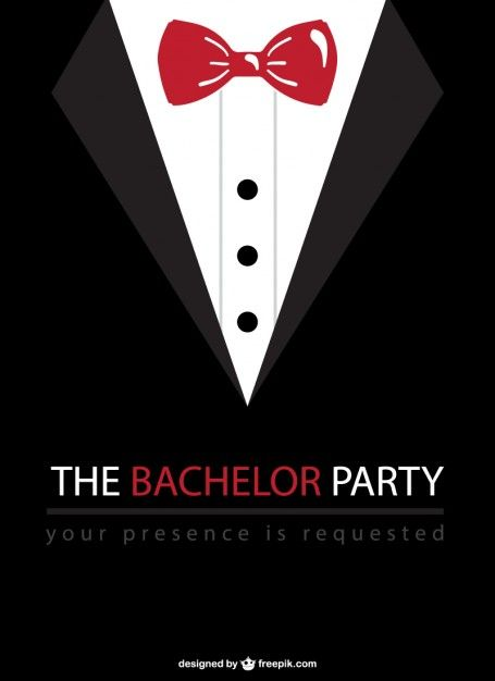 Tuxedo clipart bachelor. Party vector wedding pinterest