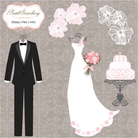 Tuxedo clipart bride dress. Luxury wedding tuxedos personal