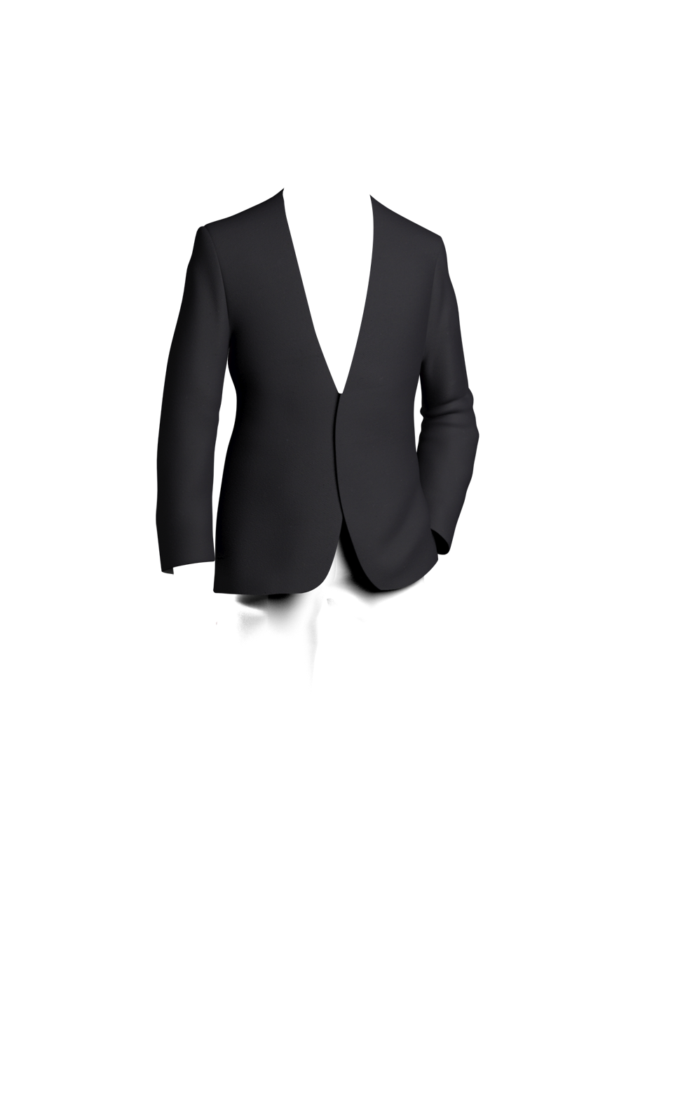 Drawing jackets guy outfit. Design your own suit