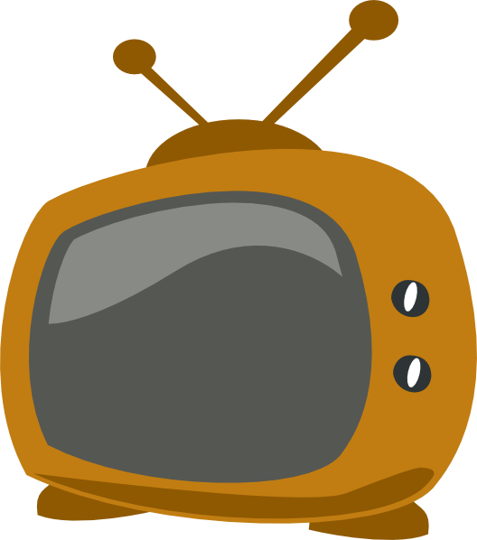 Clip art at clker. Tv cartoon png picture freeuse stock