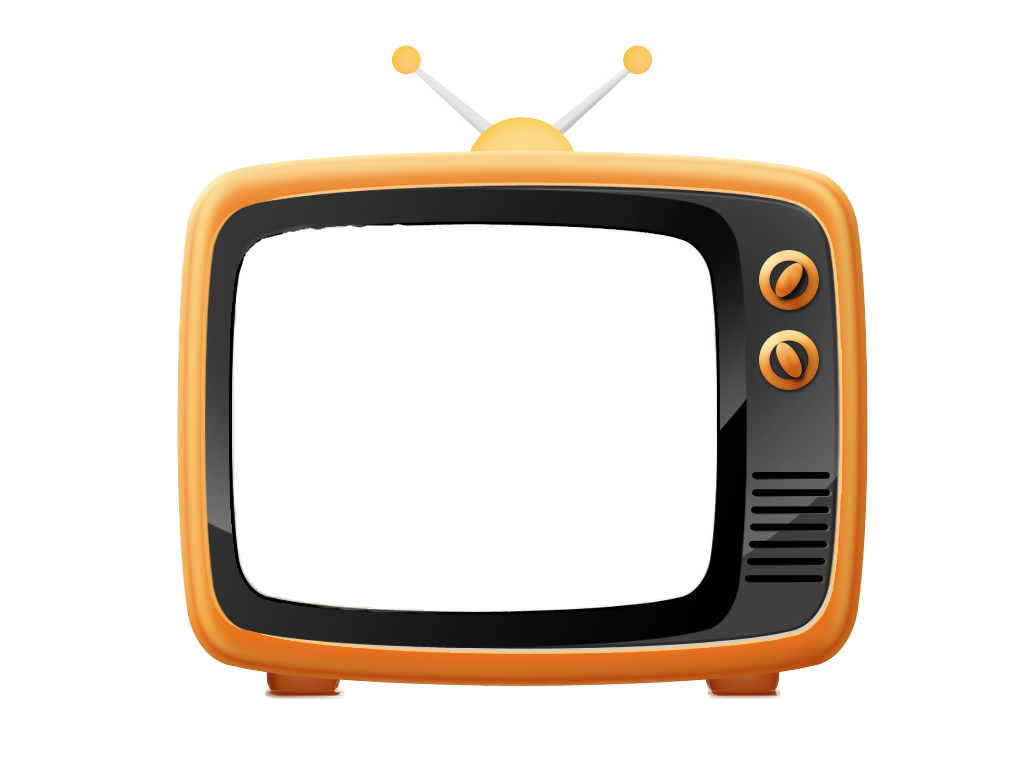 Tv cartoon png. Old television image purepng
