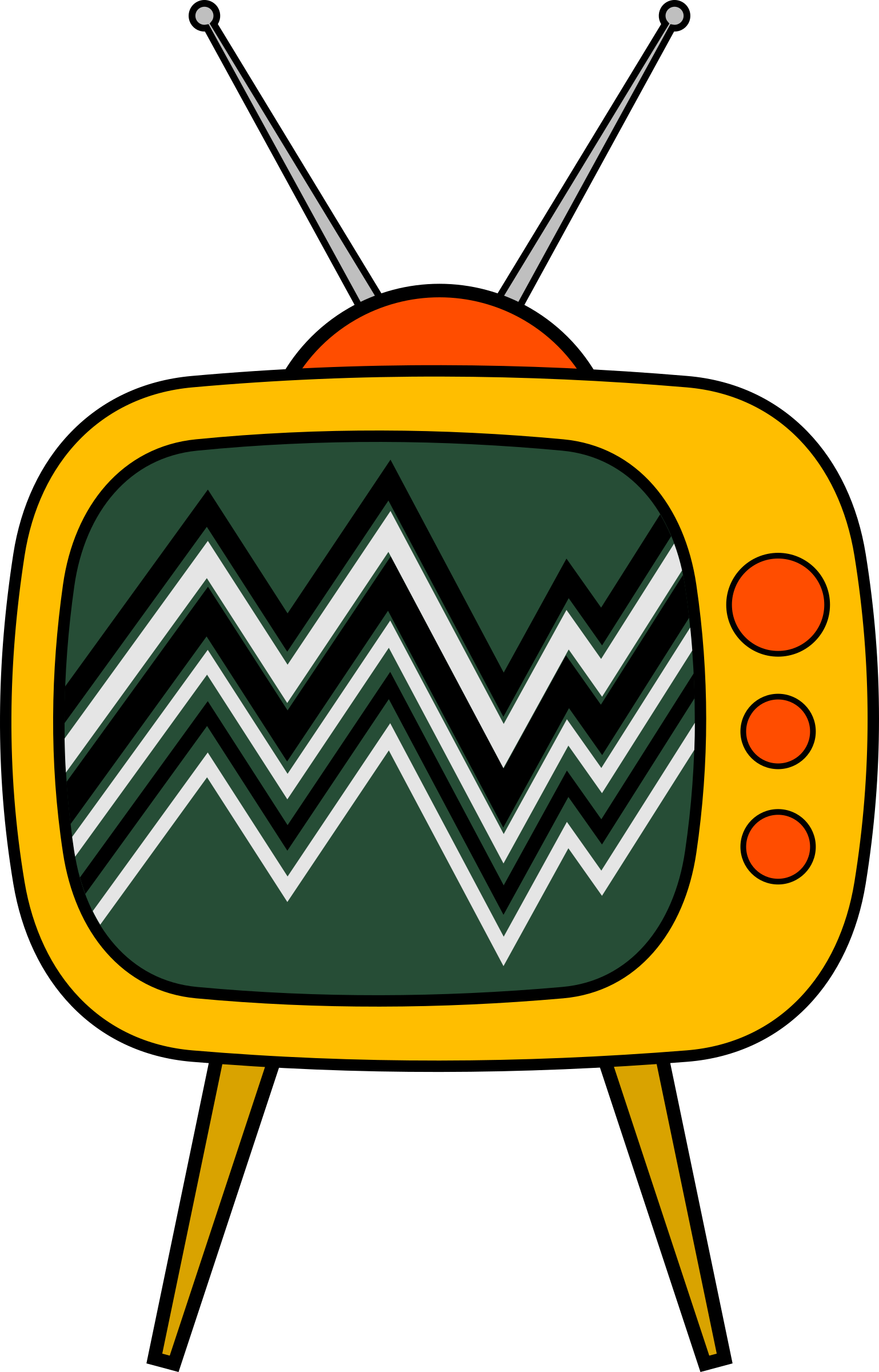 Tv cartoon png. Old icons free and