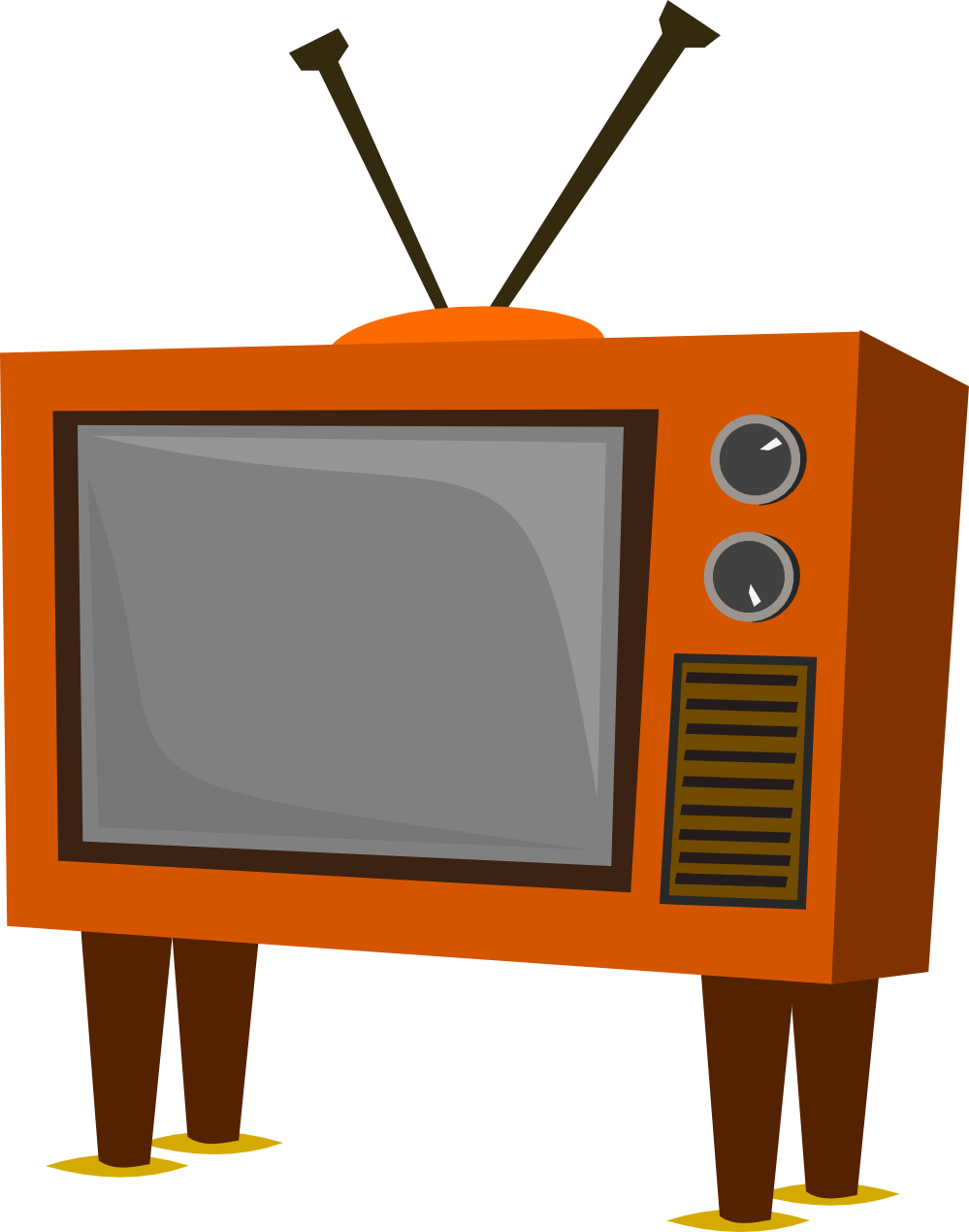 Tv cartoon png. Clipartist net search results