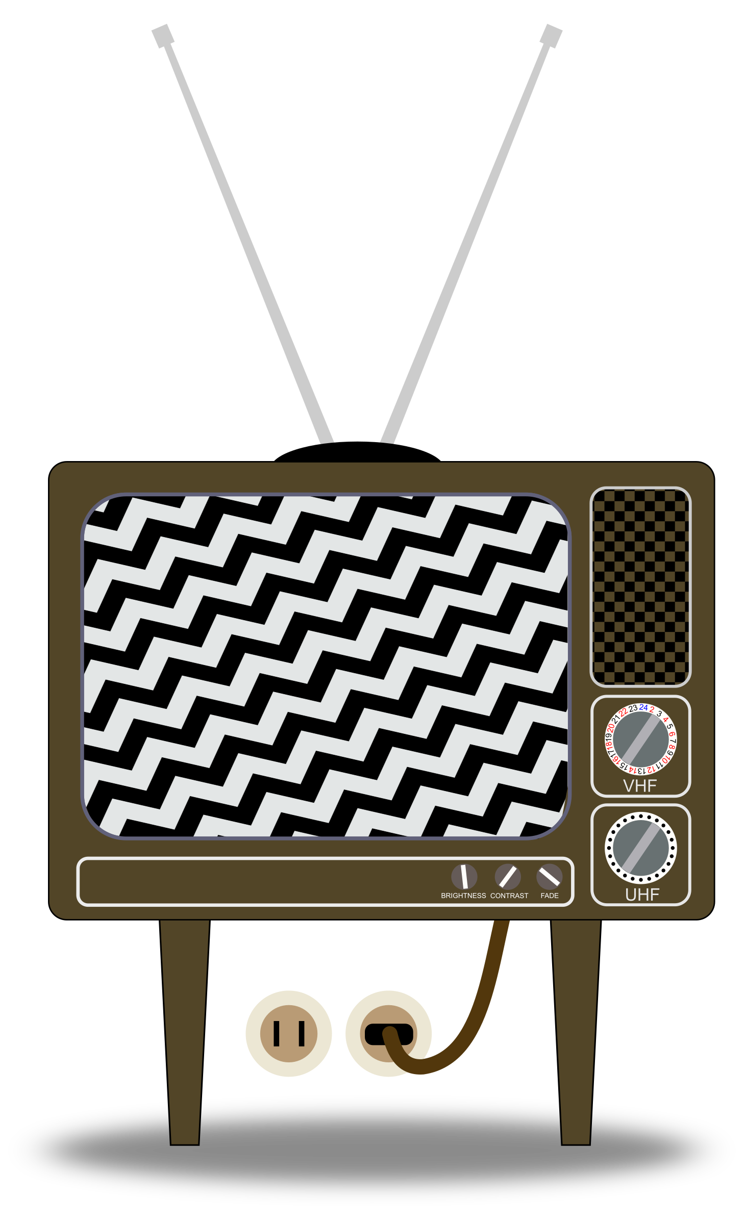 Static tv png. Television clipart electronics x