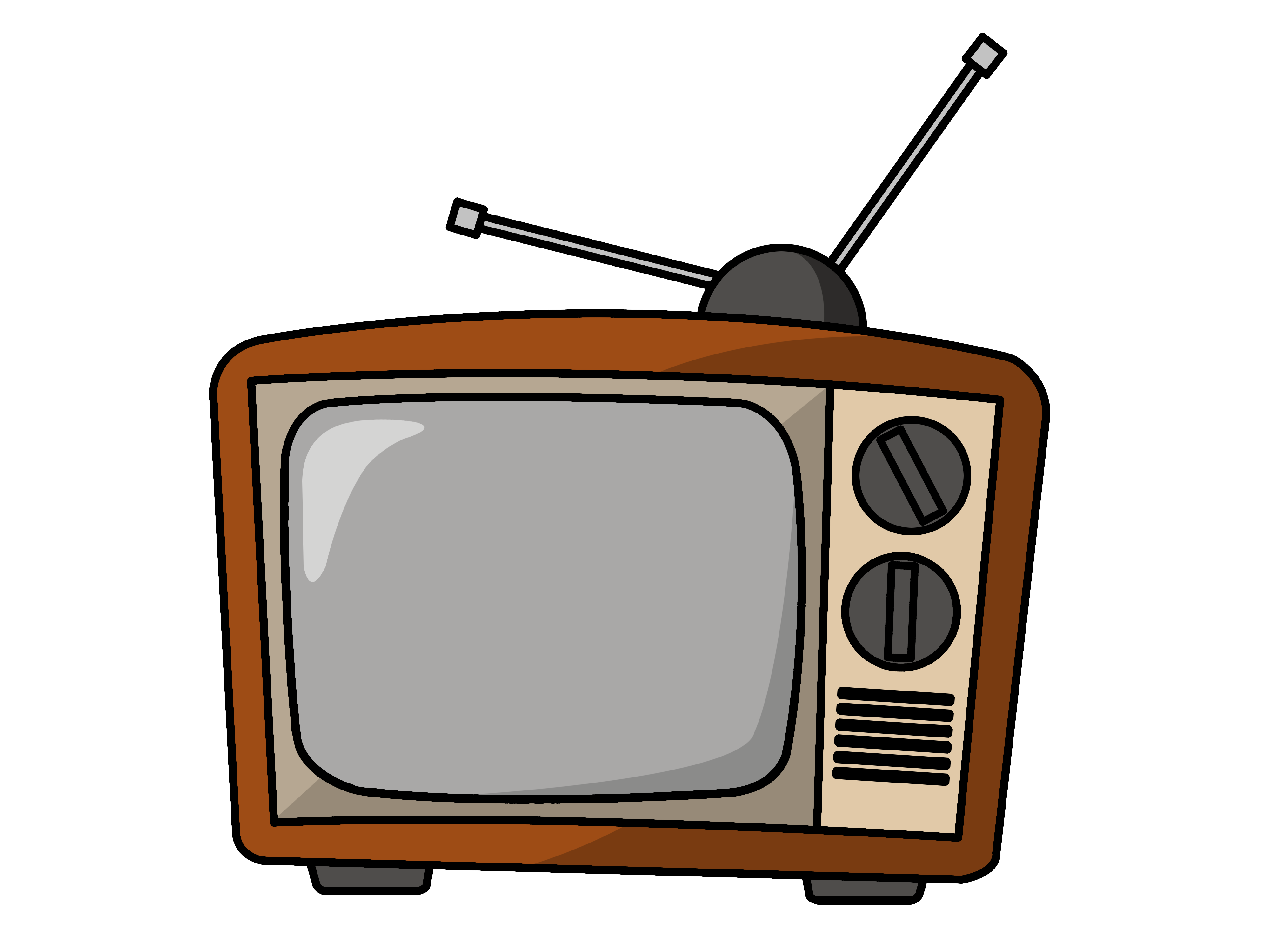 Tv clipart png. Television transparent pictures free