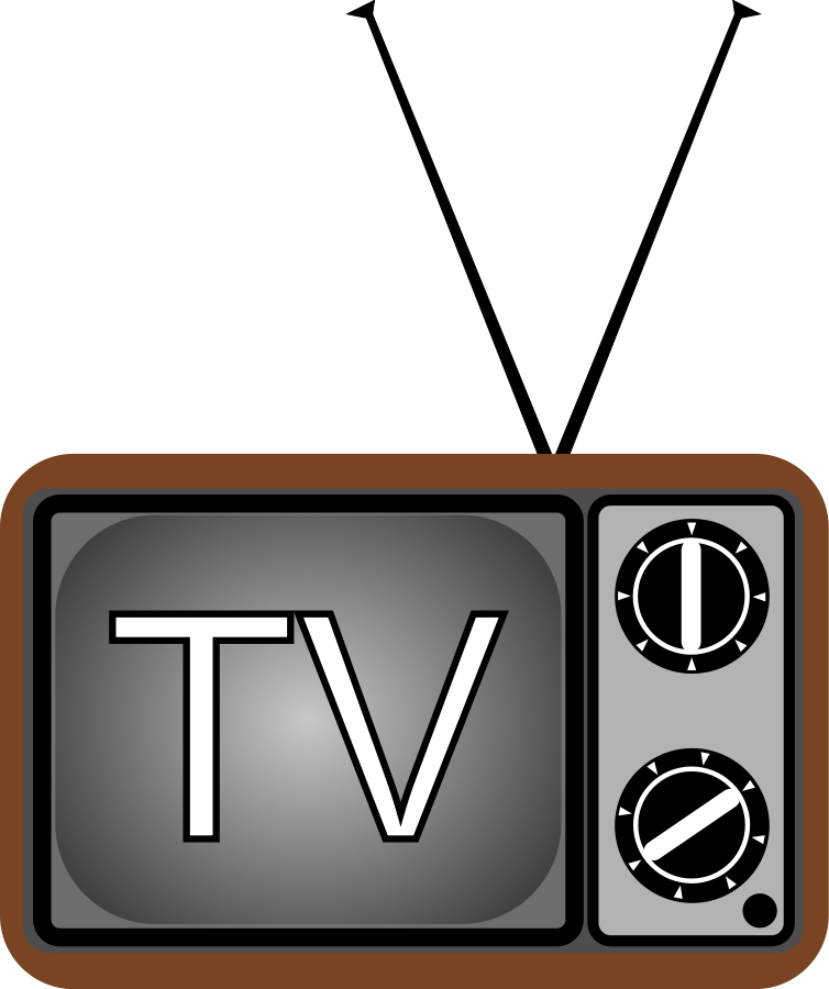 Tv clipart serial. Television panda free images