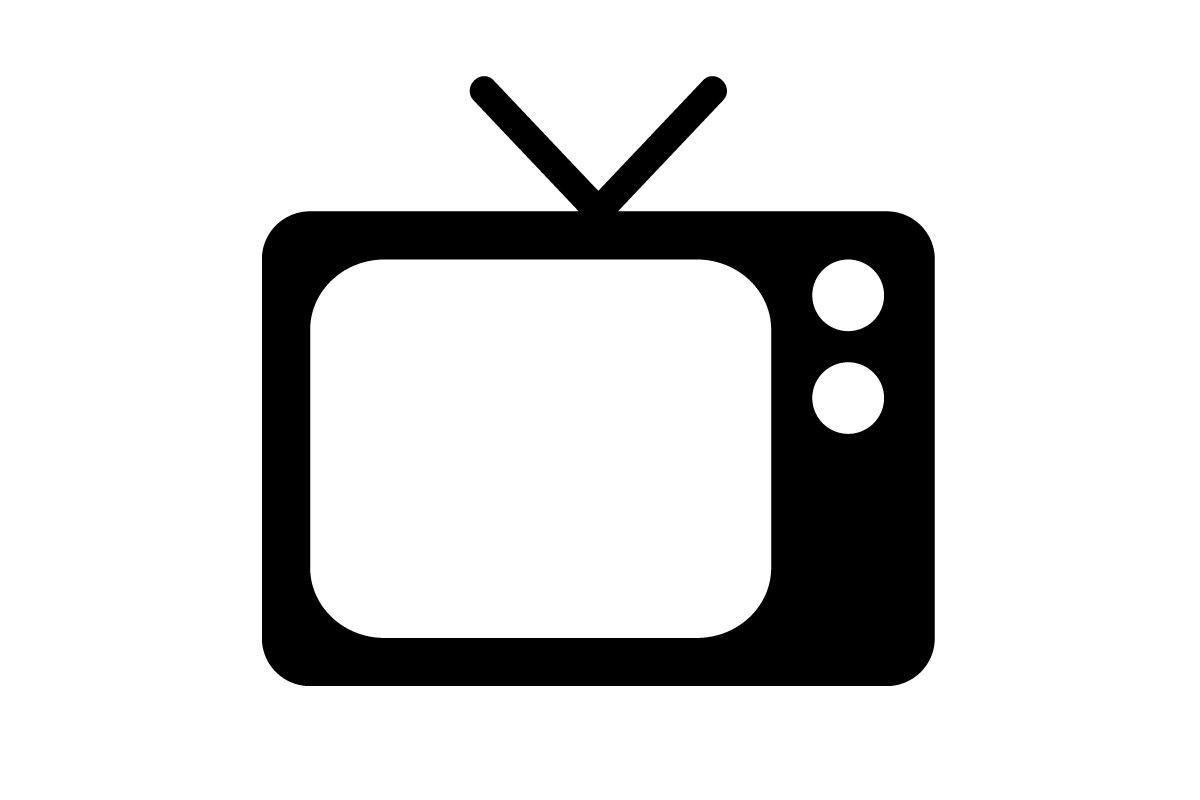 Tv clipart serial. Png images old free