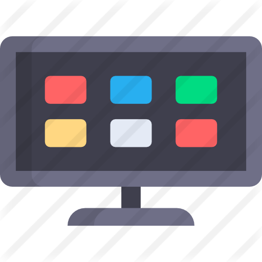 Tv clipart smart tv. Free technology icons icon