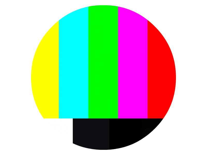 Color bar png picture black and white