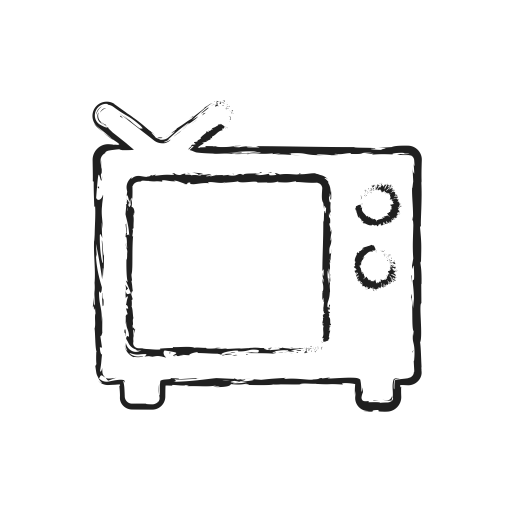 tv doodle png