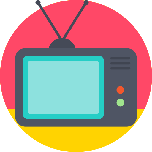 Tv icon png. Box cable mintie screen