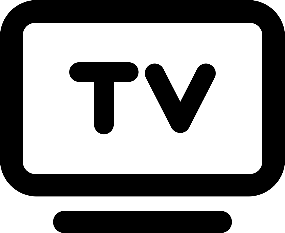 Tv icons png. Cable payment svg icon