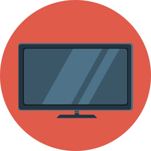 Tv icons png. Flat icon iconset com